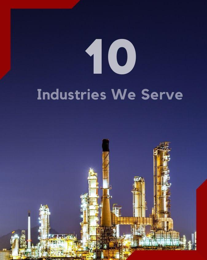 10 Industries We Serve