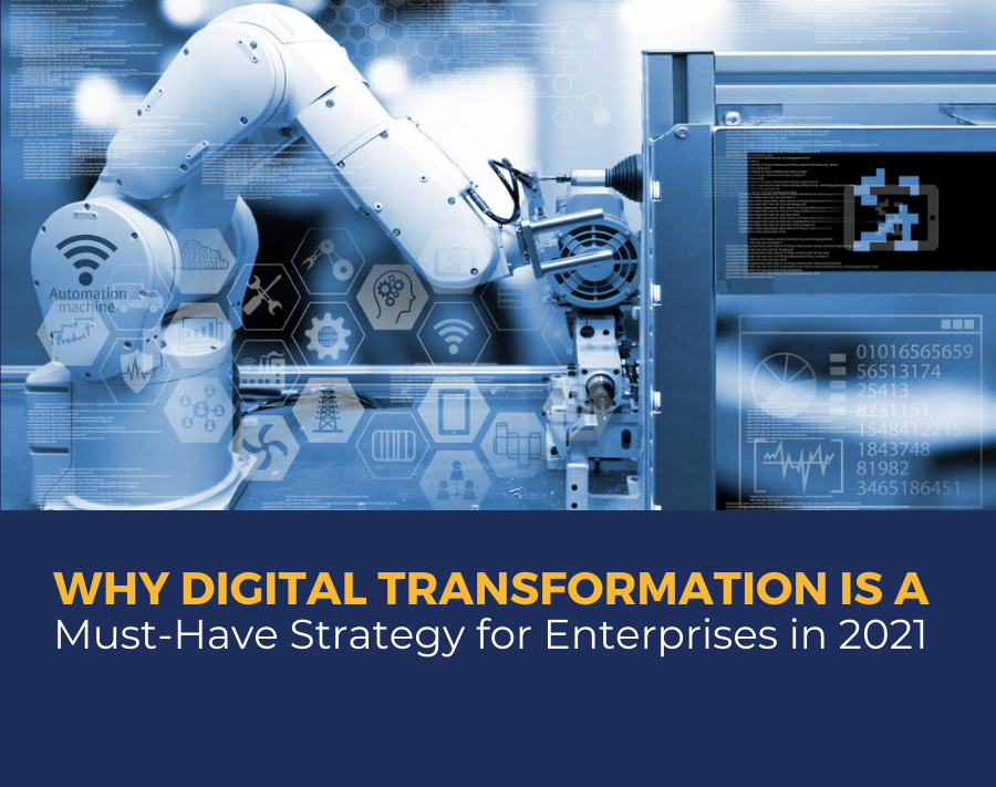 Why Digital Transformation s is a Must-have Strategy for Enterprises in 2021