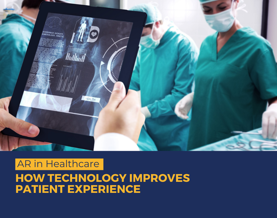 AR in Healthcare- 8 Use Cases of How Technology Improves the Patient Experience