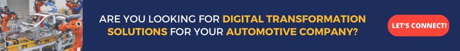Digitization in automotive industry