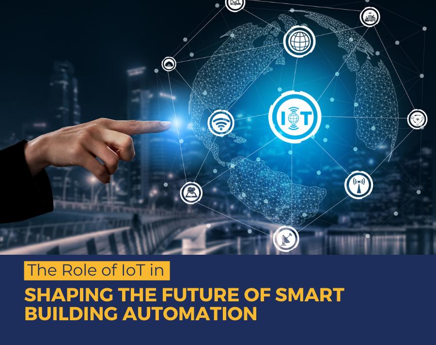 smart building using iot
